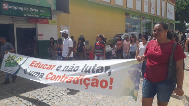 Reforma da previdência e Precatórios do FUNDEF motivam manifestação de servidores  públicos de Itororó - BA - UGT - União Geral dos Trabalhadores